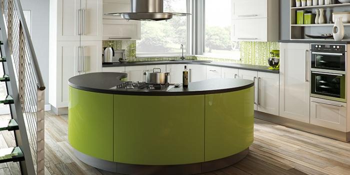 Argon Gloss White Kitchen