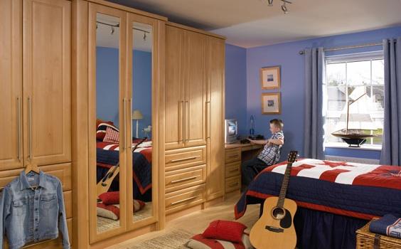 Ashford Celtic Birch Bedroom