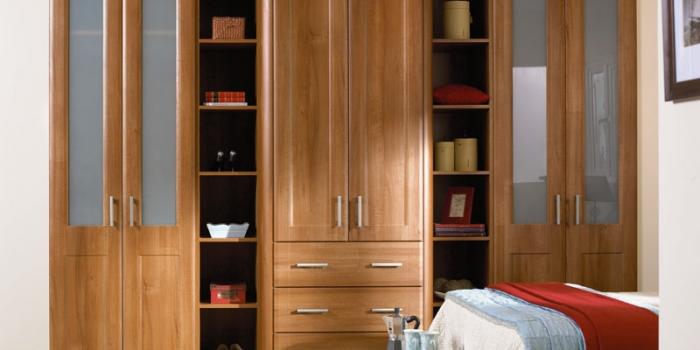 Brisbane Medium Walnut Bedroom