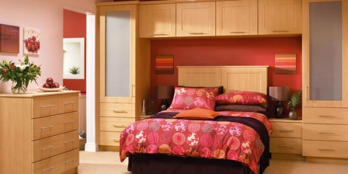 Cologne Beech Bedroom