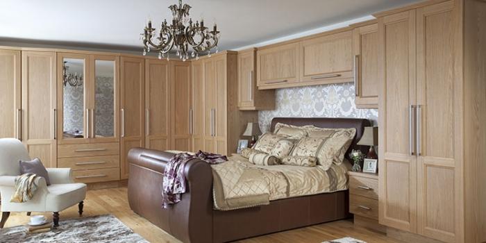 Dieppe Oak Veneer Bedroom