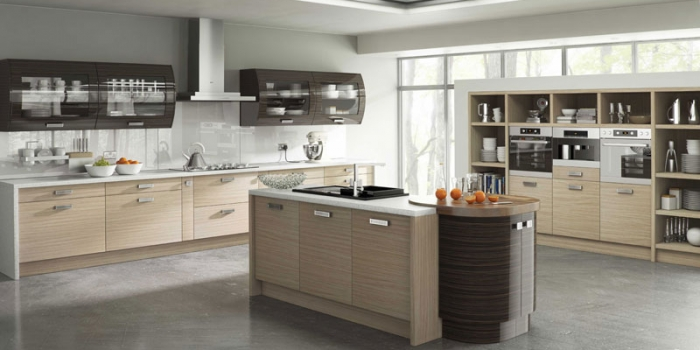 Duleek Troscan Oak Gloss Ebony Kitchen