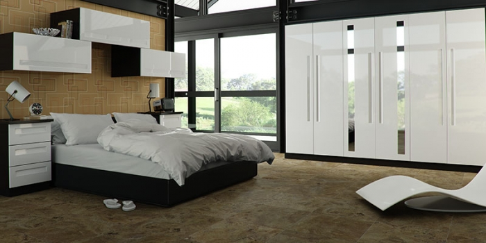 Elle Gloss White Bedroom