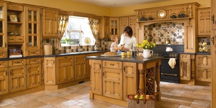 Princeton Solid Oak Kitchen