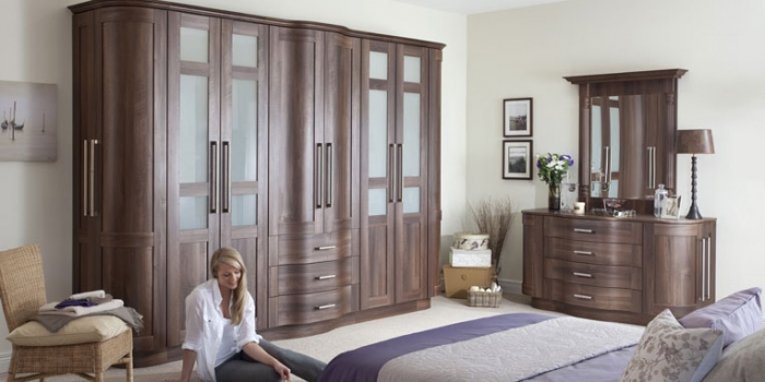 Tuscany Dark Walnut Bedroom