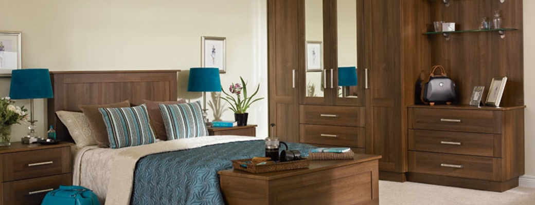 Tuscany Dark Walnut Bedroom Slider