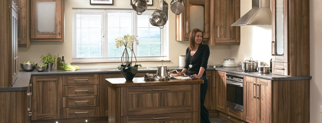 Tuscany Medium Tiepolo Kitchen Slider