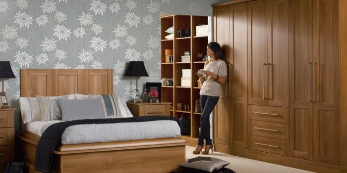 Tuscany Medium Walnut Bedroom