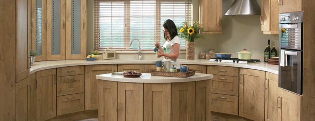Tuscany Natural Oak Kitchen Slider