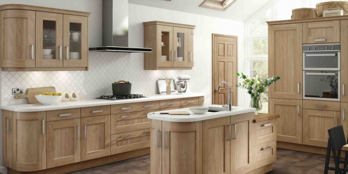 Greenwich Kitchen – Natural Oak