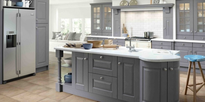 Hampton Kitchen – Dust Grey