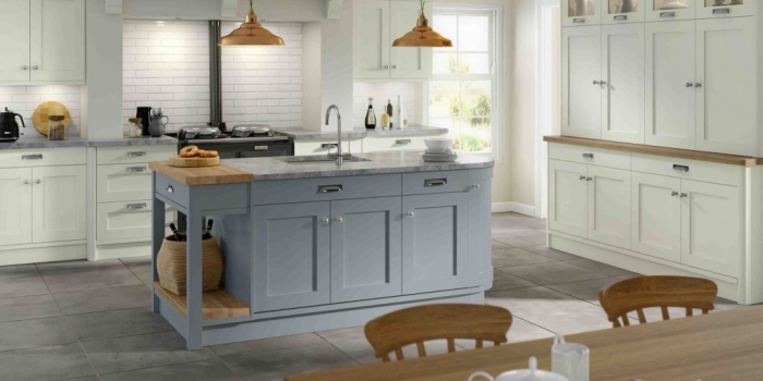 Hartford Kitchen – Ivory and Denim