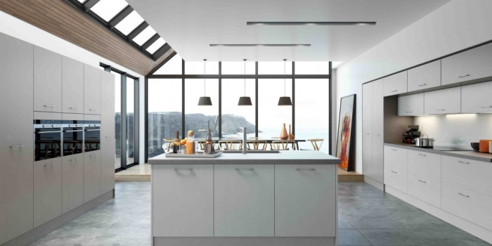 Hyde Kitchen – Stone Grey and Light Grey