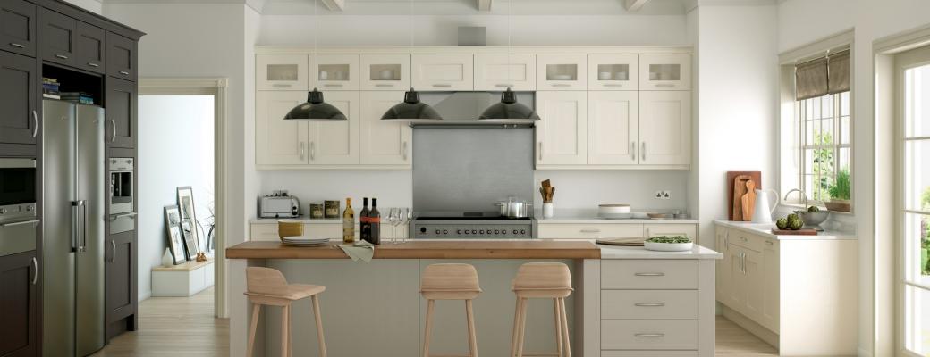 Wakefield Kitchen – Ivory, Lava & Stone