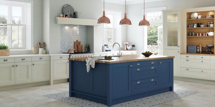 Wakefield Kitchen – Mussel & Parisian Blue