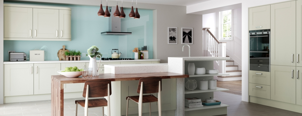 Windsor Shaker Kitchen – Mussel