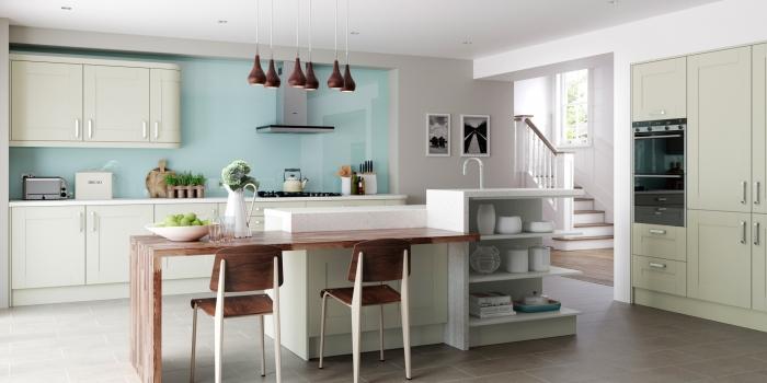 Windsor Shaker Kitchen – Mussel