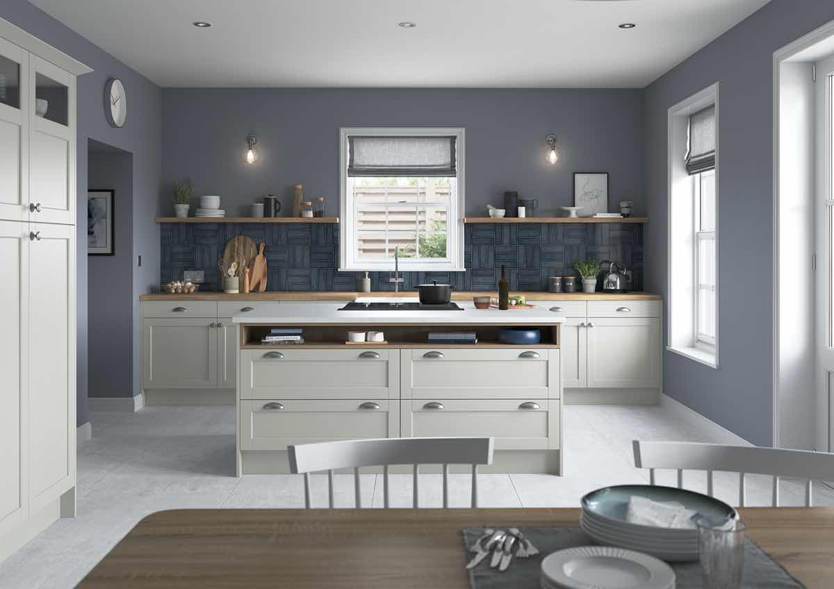 Dawson Light Grey Kitchen