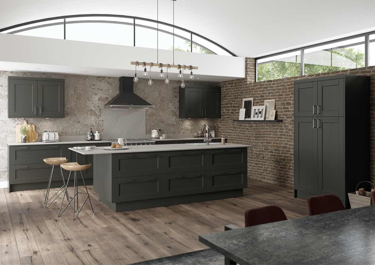 Kensington Graphite Kitchen