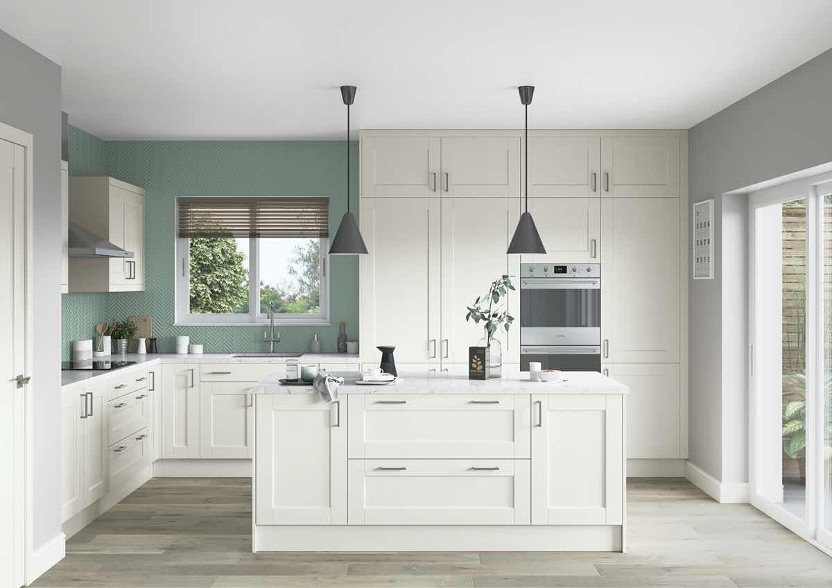 Kensington Porcelain Kitchen