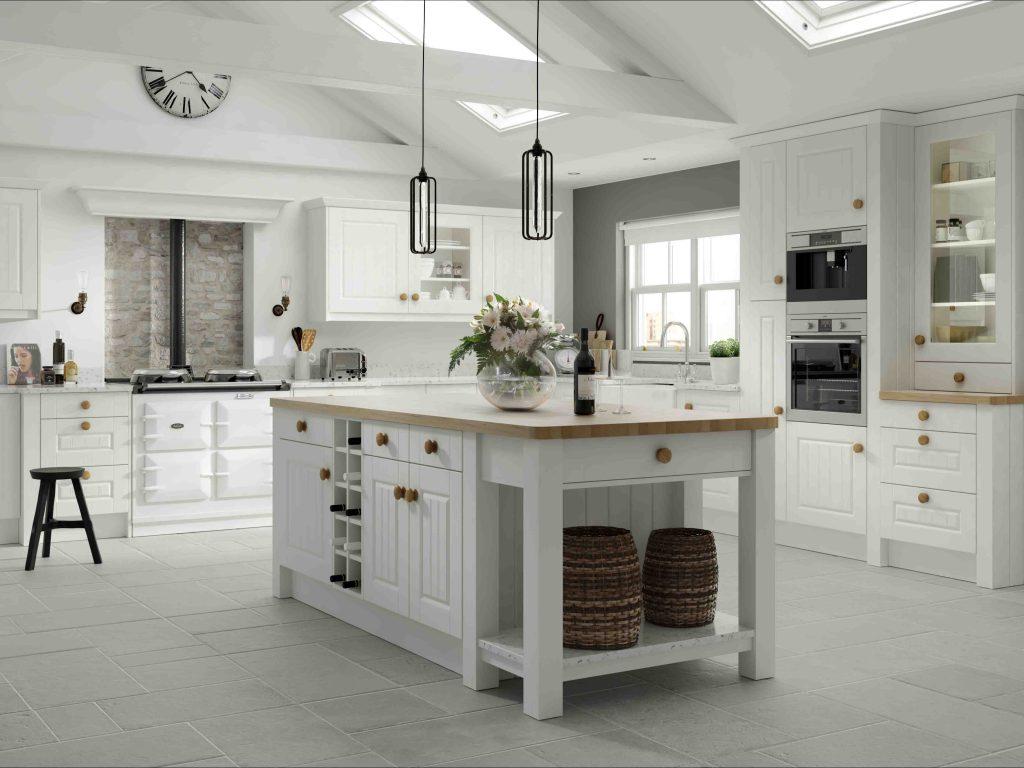 Amalfie Legno White Kitchen