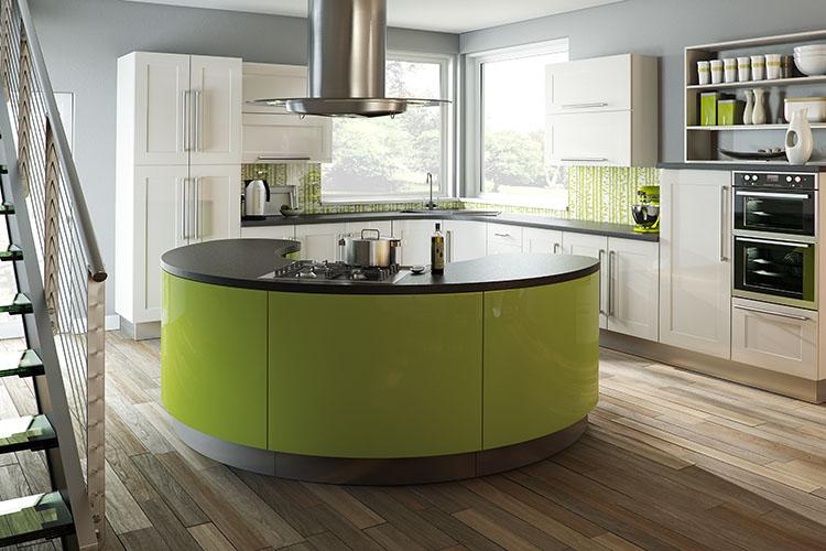 Argon White Gloss Kitchen