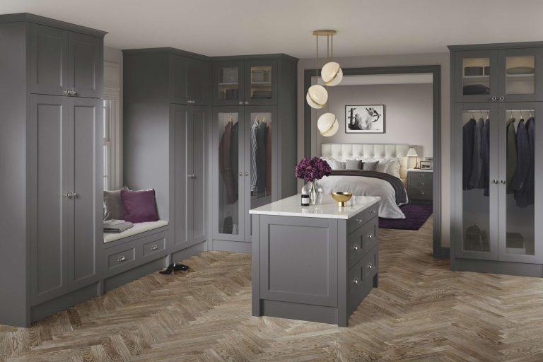 5 Piece Bastille Legno Dust Grey Bedroom