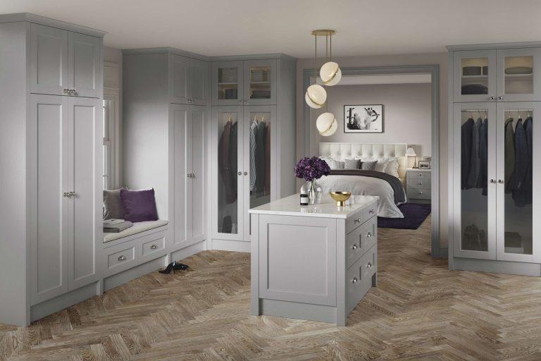 5 Piece Bastille Legno Light Grey Bedroom