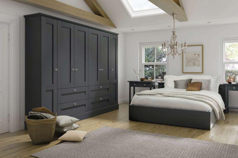 5 Piece Fenwick S1 Legno Graphite Bedroom