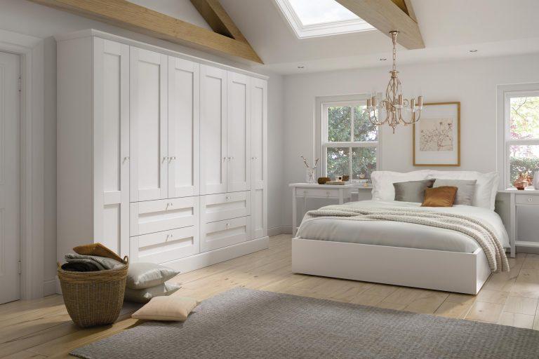 5 Piece Fenwick Legno White Bedroom