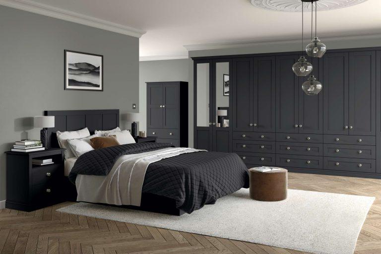 5 Piece Loxley Serica Graphite Bedroom
