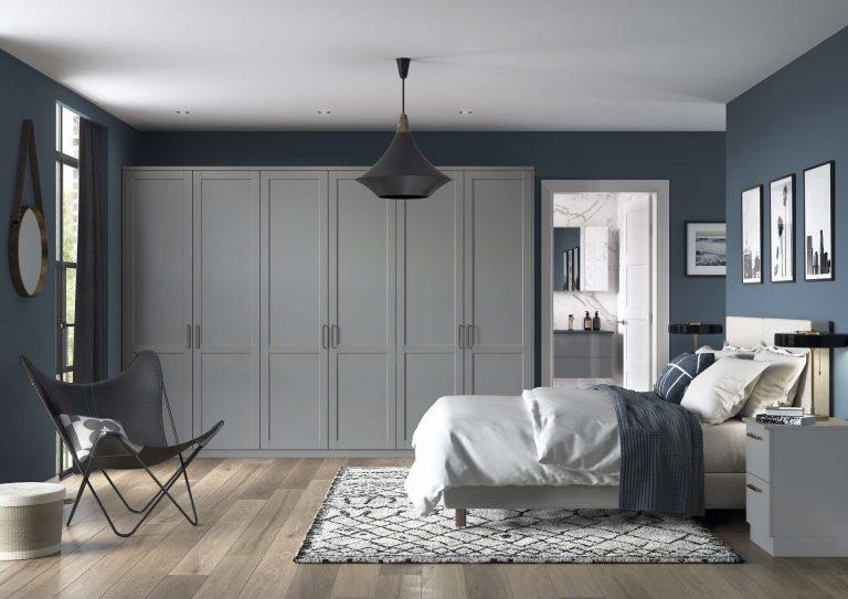 5 Piece Serica Serica Dust Grey Bedroom
