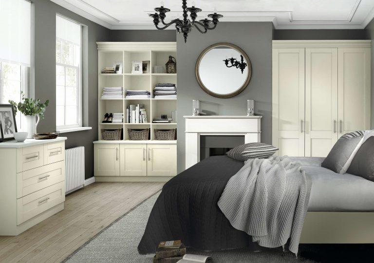 5 Piece Tuscany Ivory Bedroom