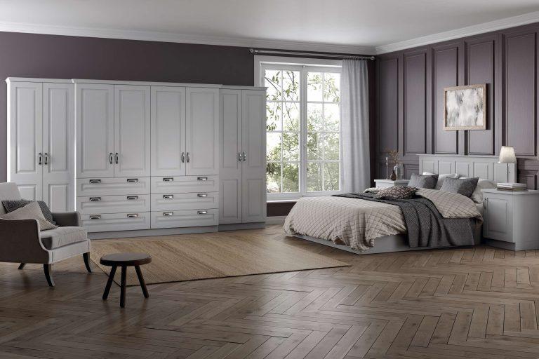 Chatham S1 Serica Light Grey Bedroom