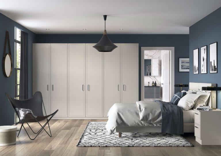 Jones S1 Serica Taupe Grey Bedroom