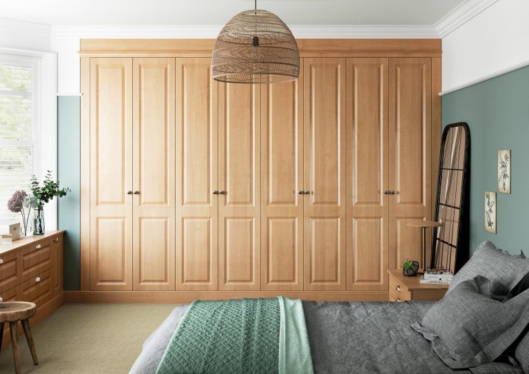 Miami S1 Trojan Oak Bedroom