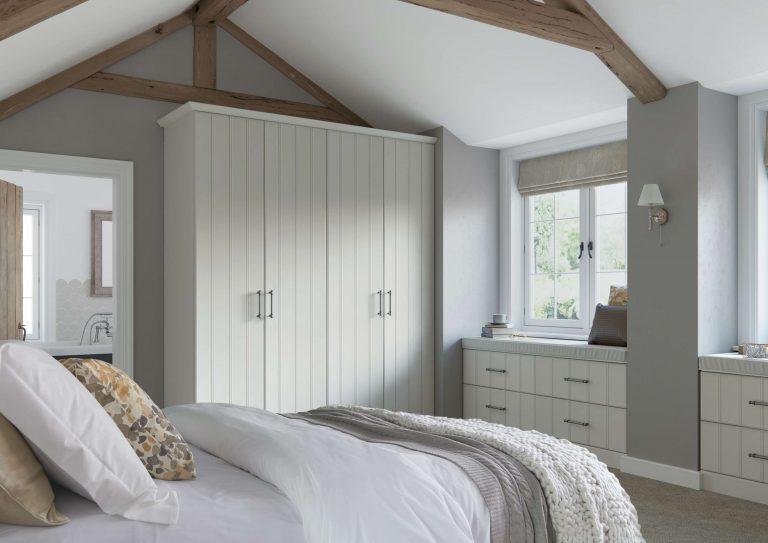 Pembroke S1 Legno White Bedroom
