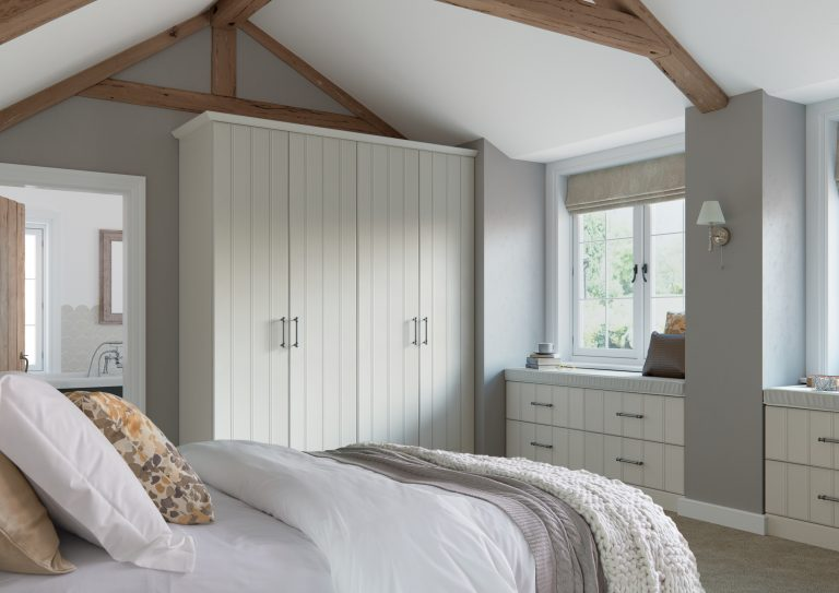 Pembrook S1 Legno White Bedroom