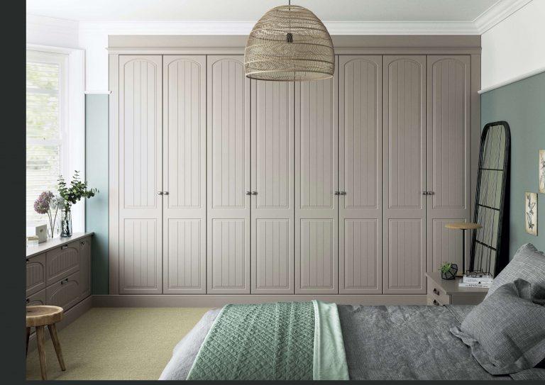 Saxon Arch S1 Serica Stone Grey Bedroom