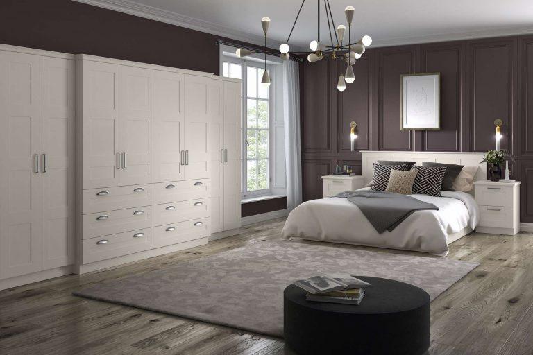 Taunton S1 4 Panel Serica Alabaster Bedroom
