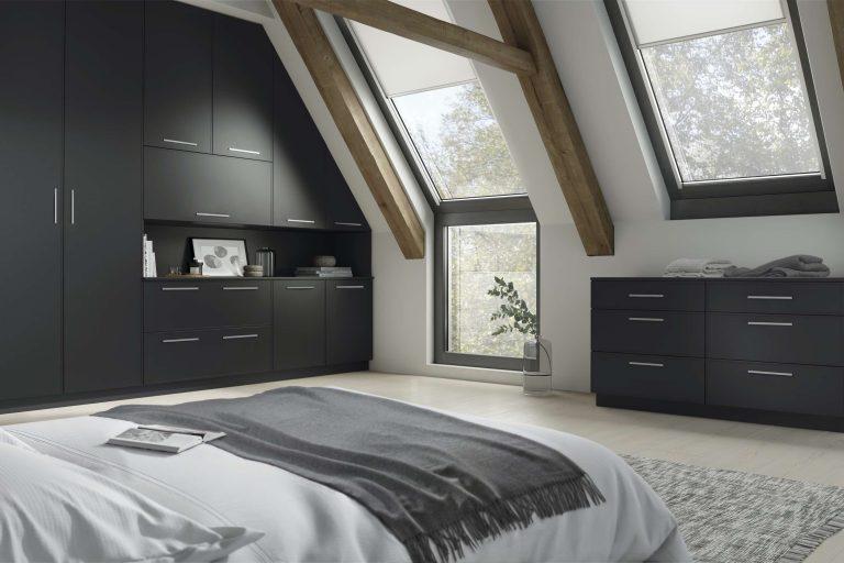 Vilo S1 Serica Graphite Bedroom