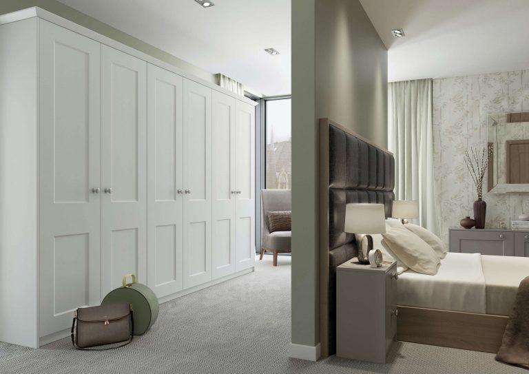 Windermere S1 Serica Porcelain - Serica Stone Grey Bedroom