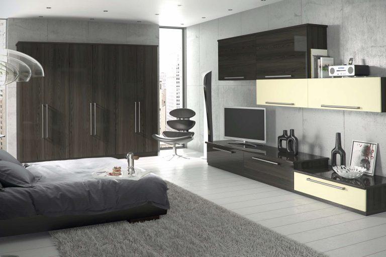Edged Phoenix S2 Gloss Mira Costa Gloss Cream Bedroom