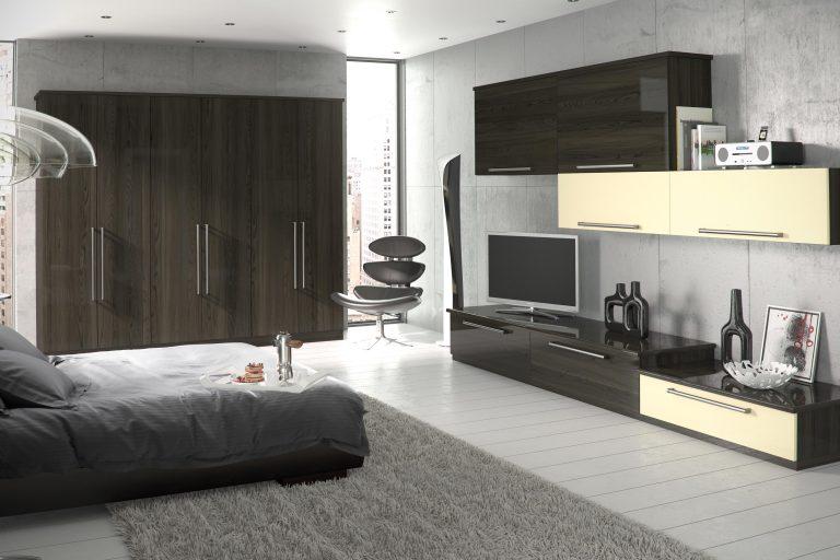 Edged Phoenix S2 Gloss Mira Cosa Gloss Cream Bedroom