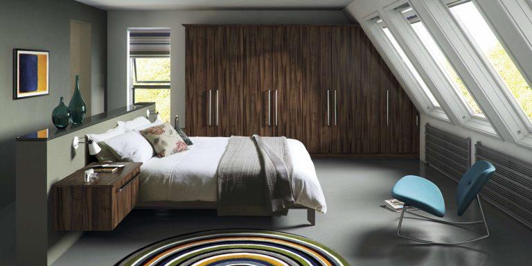 Edged Phoenix S4 Gloss Tiepolo Bedroom