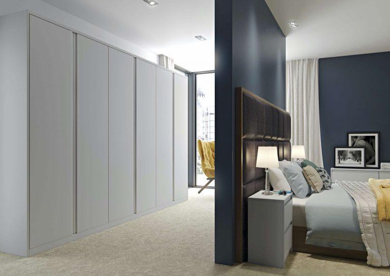 Painted Arena S1 Light Grey Bedroom
