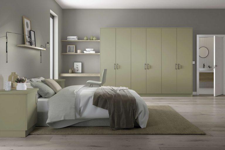 Painted Belair S1 Sage Bedroom