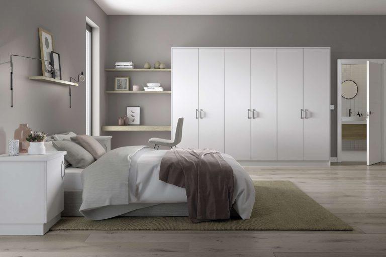 Painted Belair S1 White Bedroom