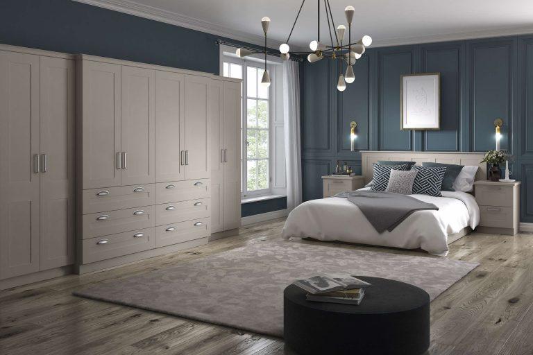 Painted Hartford S1 Pebble Bedroom