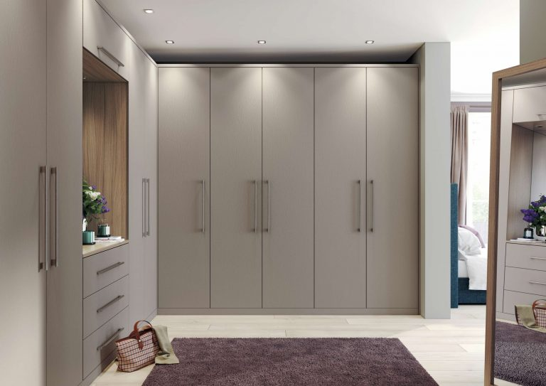 Painted Hyde S1 Stone Grey Bedroom
